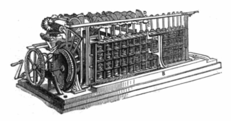 Scheutz Mechanical Calculator